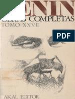 Lenin Oc Tomo 27