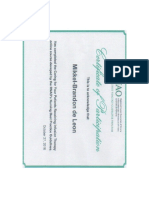 caring for patient with an iv certificate