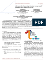Study of Thermoelectric Generator for Harnessing of the heat energy wasted from automobiles and Thermal Power Plant