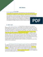 OAF Basics Document