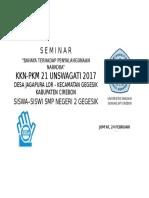 Spanduk Seminar