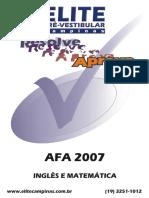 AFA 2007 Ing Mat