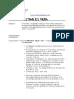 acd resume