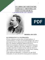 Resumen Libro de Nietzsche
