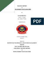 Sagar Khanna- Project Report