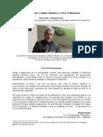 Entrevista Michael Lowy (Ecosocialismo, Cambio Climático y Crisis Civilizatoria)