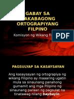 Gabay Sa Makabagong Ortograpiyang Filpino