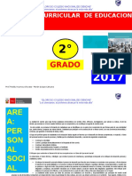 Programa Curricular de Primaria 2 Grado Fred