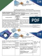 Guía de Actividades y Rúbrica de Evaluación Fase 3 –Taller de Base de Datos