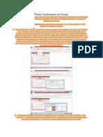 Plano Cartesiano en Excel