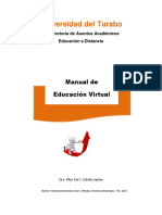Manual Educacion Virtual