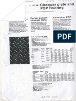 Chequered Plate Technical Details