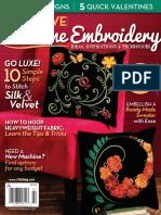 01. Creative Machine Embroidery - January, February 2015