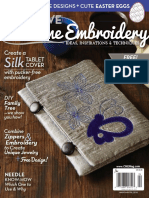 02. Creative Machine Embroidery - March, April 2015