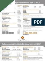 New-Brunswick-Power-Tariffs