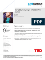 Your Body Language Shapes Who You Are Cuddy en 19942