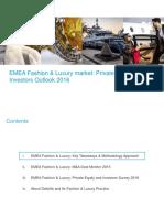 Deloitte ES Financial Advisory EMEA Fashion and Luxury Market