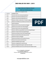 Dokumen Wajib ISO 9001_2015