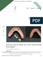 AdanaDental _ Artículo Sobre Material Peek, Por Dr