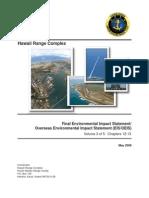Hawaii Range Complex Final EIS/OEIS Volume 3 of 5