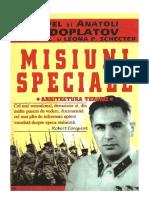 Misiuni Speciale. Memoriile Unui Maestru Al Spionajului Sovietic [v 1.0]