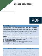 Episiotomi Dan Amniotomi Fala Cattleya