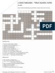 Crossword Puzzle BM