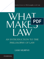 What Makes Law an Introduction to the Philosophy of Law