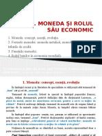 Tema 1- Moneda Si Rolul Sau Economic