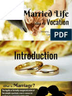 Married Life as a Vocation