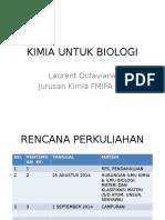 Kimia Untuk Biologi Dari Bu Laurent Uts 1