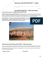 Indian Government Schemes PDF Indian Govt Yojana
