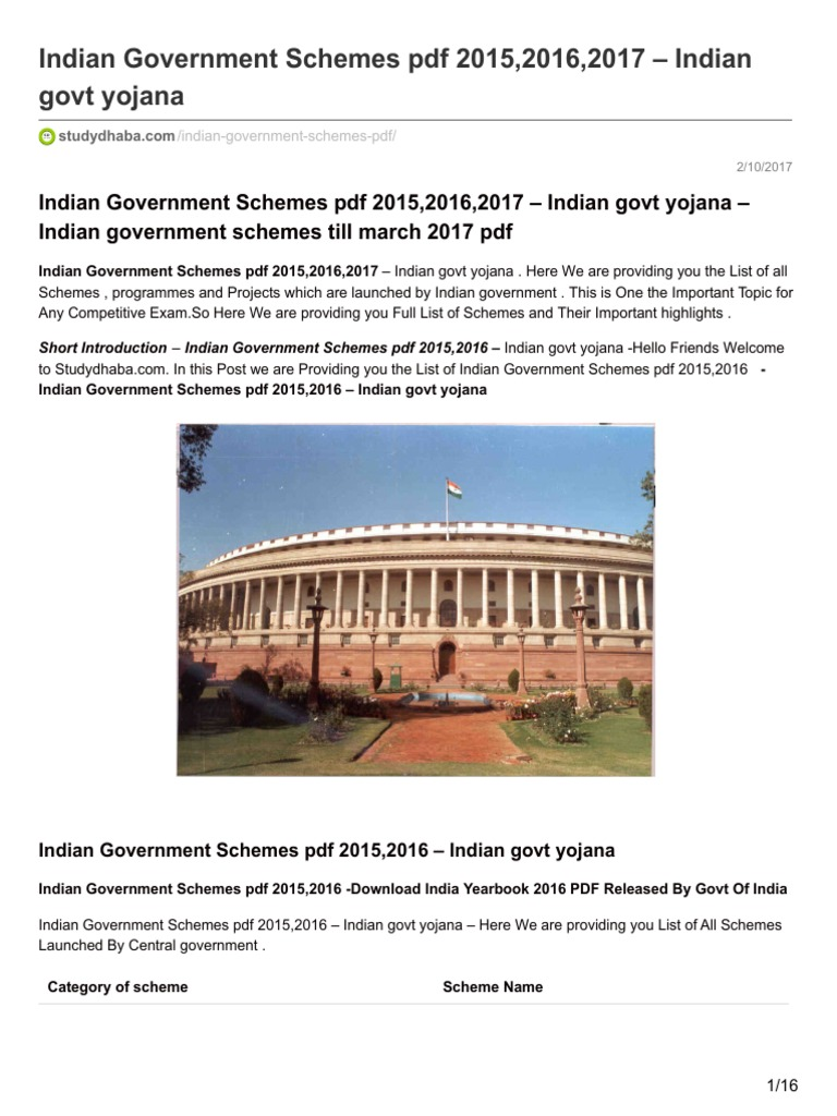 India Yearbook By Government Of India 2016 Pdf