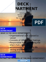 Consolidated Report Deck Department Final