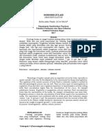 Laporan Praktikum Fisiologi Hewan Air (Osmoregulasi)