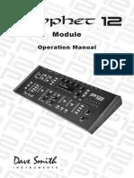 Prophet 12 Module Operation Manual v.1.0