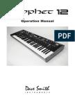 Prophet 12 Operation Manual v.1.0