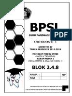 BPSL Blok 8 2014 Ortho