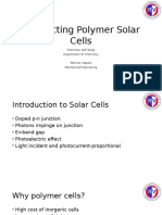Conducting Polymer Solar Cells