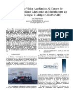 Reporte Academica a CIMMATH