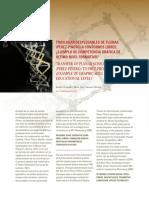 Desplegables aspas Piñero diseño parametrico