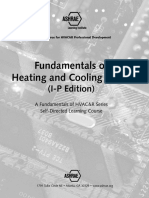 Fundamentals of Heating and Cooling Loads I-P