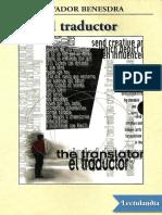 El Traductor - Salvador Benesdra