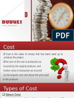 Powerpoint (Project Cost and Budget)