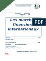 Les Marchés Financiers Internationaux.word