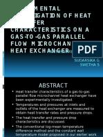 Experimental Investigation of Heat TransfeR