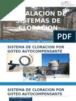 2 Instalacion de Sistemas de Cloracion (Poblacion)