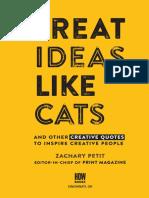Treat Ideas LIke Cats HOW Design Jan2017