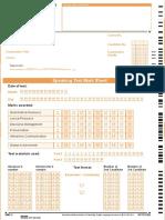 Answer Sheet Speaking-2