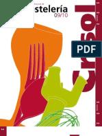 Catálogo Profesional de Hostelería 09/10. Grupo CRISOL